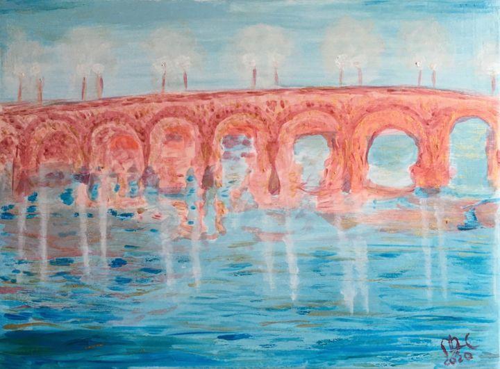 L'aube sur la Loire